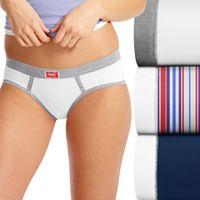 Hanes Ultimate Vintage 3-pack Boyfriend Hipster Panties 45UVBH