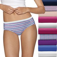 Hanes Ultimate 10-pack Holiday Box Hipster Panties 41KP10