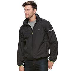 Men's IZOD Lightweight Reflective Windbreaker Jacket