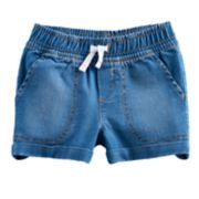 Toddler Girl Jumping Beans® Rolled Cuff Denim Shorts