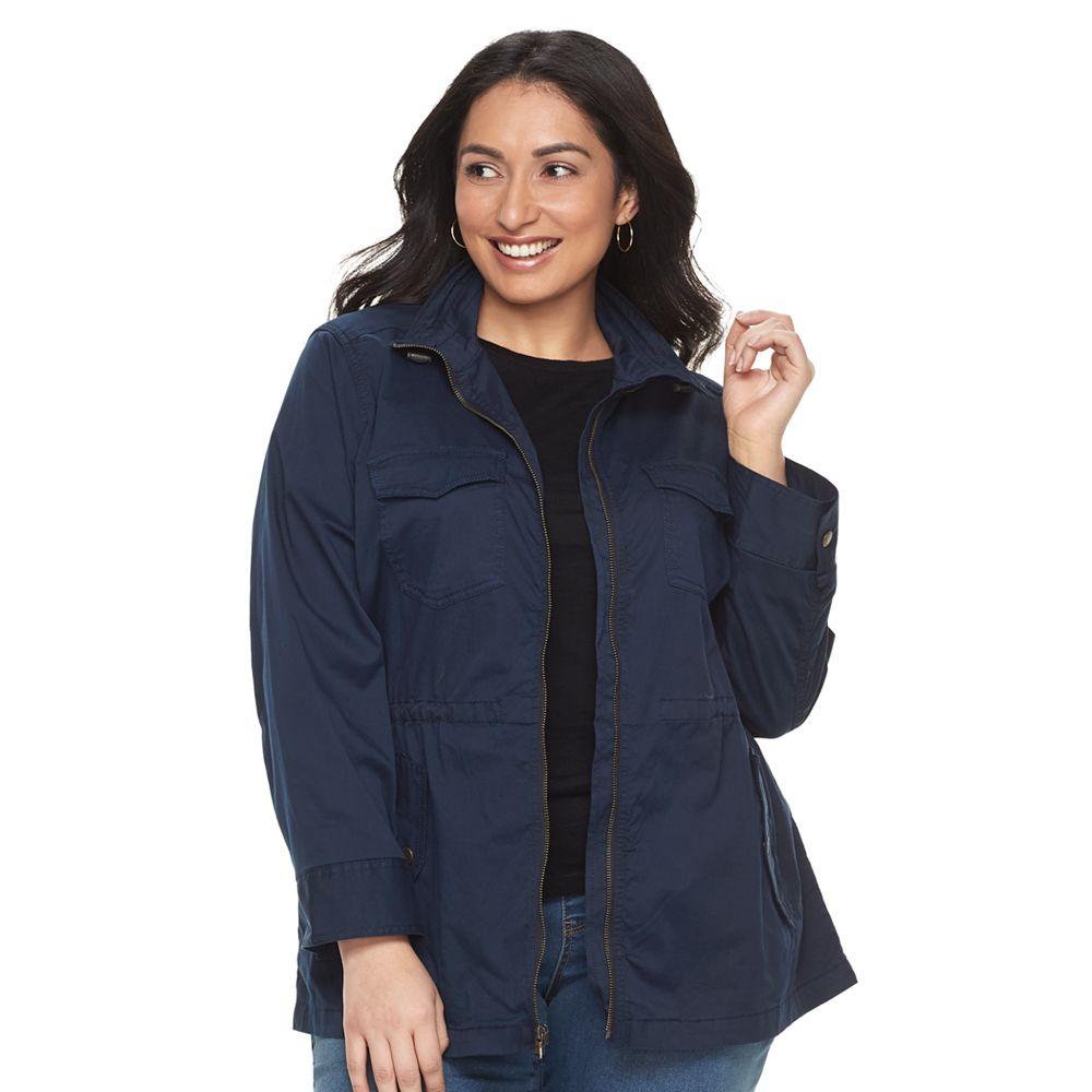 97b7a153efe Plus Size SONOMA Goods for Life™ Utility Jacket