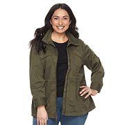 Plus Size SONOMA Goods for Life™ Utility Jacket