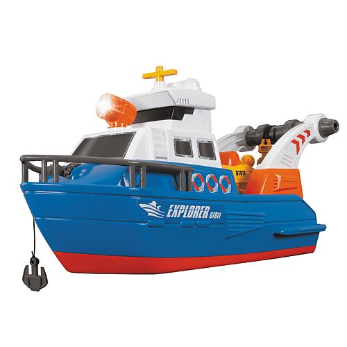 Dickie Toys Action Explorer Boat