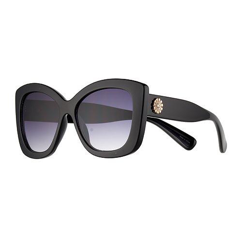 800620199 LC Lauren Conrad La Taqueria 2 56mm Oversized Square Sunglasses