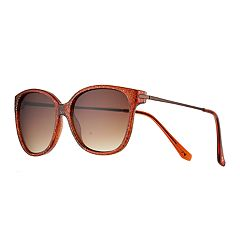 LC Lauren Conrad Kozar 55mm Square Sunglasses