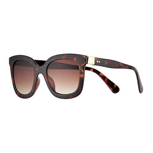 LC Lauren Conrad Purton 52mm Wayfarer Gradient Sunglasses