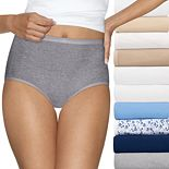 Women's Hanes 10-Pack Ultimate Briefs 40KP10