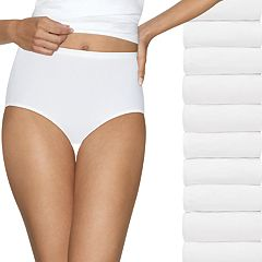 Women's Hanes 10-Pack Holiday Box Ultimate Briefs 40KP10