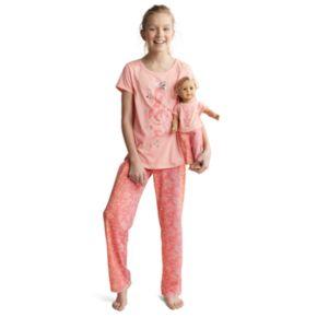 Girls 5-14 American Girl Music Top & Bottoms Pajama Set & Doll Pajama Set