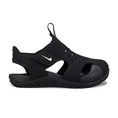 29274c462f03 Nike Kawa Kid s Slide Sandals. (38) · Nike Sunray Protect 2 Toddler Boys   Sandals. Black White ...