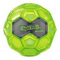 Large Green LED Night Soccer Ball