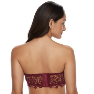 It's Just A Kiss Bras: Crochet Strapless Bra BR-28640