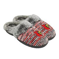 Women's Forever Collectibles Louisville Cardinals Peak Slide Slippers