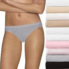 Women's Hanes 10-Pack Holiday Box Ultimate Bikini 42KP10