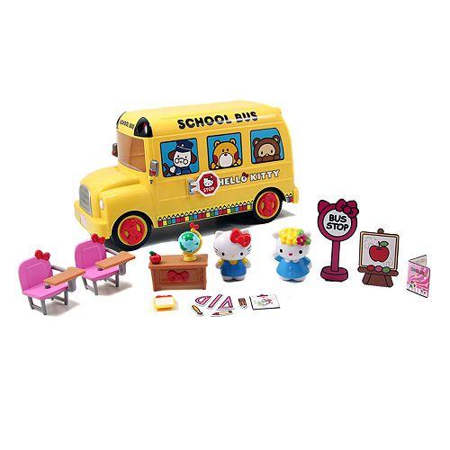 Hello Kitty® Deluxe School Bus Playset by Jada Toys