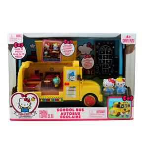 Hello Kitty® Deluxe School Bus Playset by Jada Toys