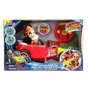 Disney's Mickey Mouse Remote Control Transforming Roadster Racer by Jada Toys