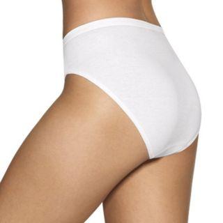 Women's Hanes 10-Pack Holiday Box Ultimate Hi-Cut Panties 43KP10
