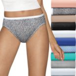 Hanes Ultimate 10-pack Holiday Box Hi-Cut Brief Panties 43KP10