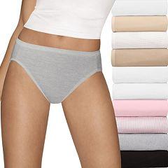 Women's Hanes 10-Pack Ultimate Hi-Cut Panties 43KP10