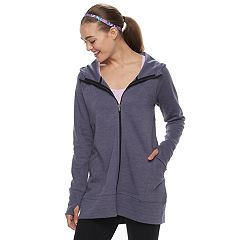 Women's Tek Gear® Thumb Hole Long Jacket