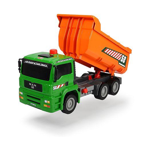 Dickie Toys 11-in. Air Pump Dump Truck Vehicle