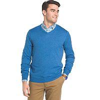 Big & Tall IZOD Regular-Fit Wool-Blend V-Neck Sweater