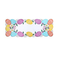 Celebrate Easter Together Cut-Out Egg Table Runner - 36'