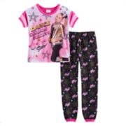 "Girls 6-12 JoJo Siwa ""Dance Dream"" Top & Bottoms Pajama Set"