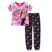 Girls 6-12 JoJo Siwa 'Dance Dream' Top & Bottoms Pajama Set