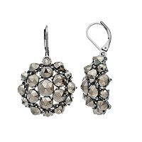 Simply Vera Vera Wang Fireball Dome Nickel Free Drop Earrings