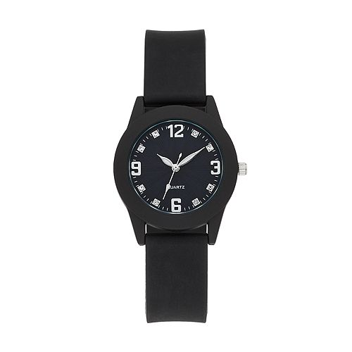 Women's Monochrome Rubber Watch