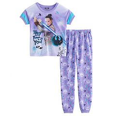 Girls 6-14 Star Wars Rey 'May the Force Be With You' Top & Bottoms Pajama Set