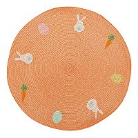 Celebrate Easter Together Bunny Round Placemat