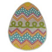 Celebrate Easter Together Beaded Egg Placemat
