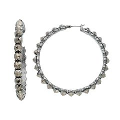 Simply Vera Vera Wang Studded Nickel Free Hoop Earrings
