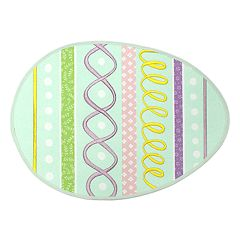 Celebrate Easter Together Egg-Shaped Placemat