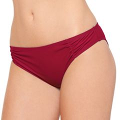 Juniors' Hot Water Cheeky Bikini Bottoms