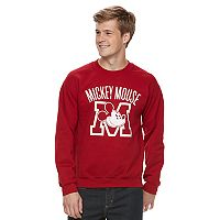 Men's Disney Mickey Mouse Crew Fleece