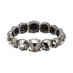 Simply Vera Vera Wang Faceted Stretch Bracelet