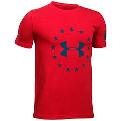 Boys 8-20 Under Armour Freedom Logo Tee