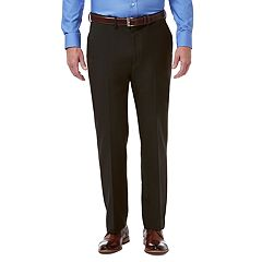 Men's Haggar Premium Comfort Stretch Classic-Fit Flat-Front Dress Pants