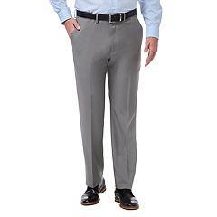 Men's Haggar Premium Comfort Stretch Classic-Fit Flat-Front Dress Pants
