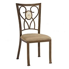 Hillsdale Furniture Brookside Scroll Dining Chair 2-piece Set