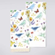 Celebrate Spring Together Birds & Flowers Kitchen Towel 2 pk