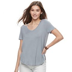 Juniors' Mudd® Cut-Out Tee