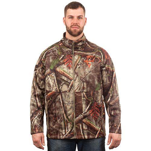 Men's Huntworth Camo Stretch Softshell Jacket