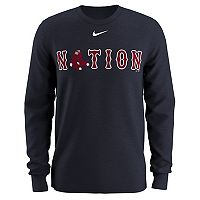 Men's Nike Boston Red Sox Local Hunt Long-Sleeve Tee