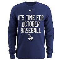 Men's Nike Los Angeles Dodgers Local Hunt Long-Sleeve Tee
