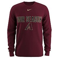 Men's Nike Arizona Diamondbacks Local Hunt Long-Sleeve Tee
